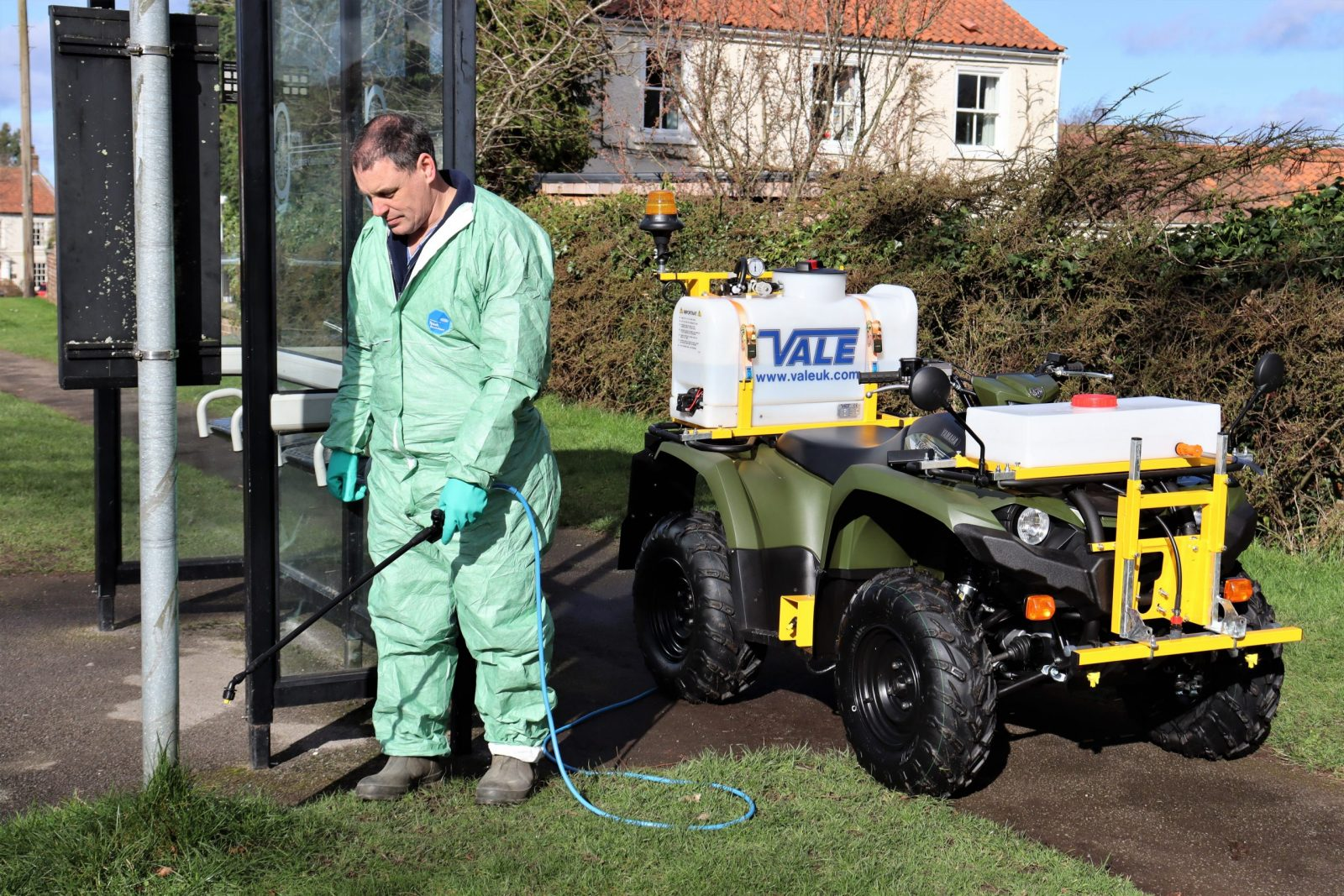 VALE Engineering's PKL450 ATV quad bike mounted weed sprayer is generally considered to be one of the most robust and reliable in the marketplace