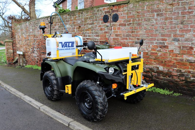 Incorporating the Yamaha Kodiak 450 ATV quad bike, the design has been developed along with legislation, health & safety best practice and all relevant codes of practice