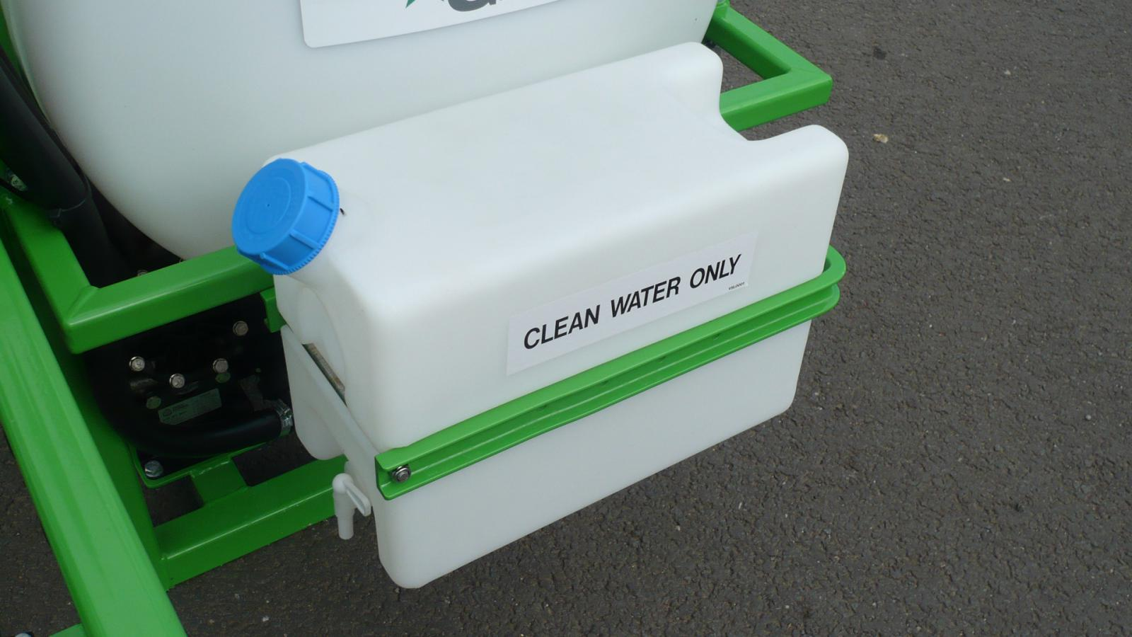 The AS200 STARGREEN Tractor Mounted Amenity Sprayer incorporates a clean water tank