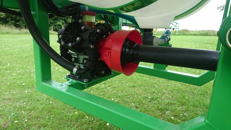 Optional three-cylinder diaphragm pump with PTO shaft on the AS200 STARGREEN Tractor Mounted Amenity Sprayer