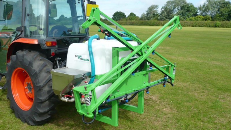 The STARGREEN AS300Pro and AS400Pro are very popular compact tractor-mounted amenity sprayers.