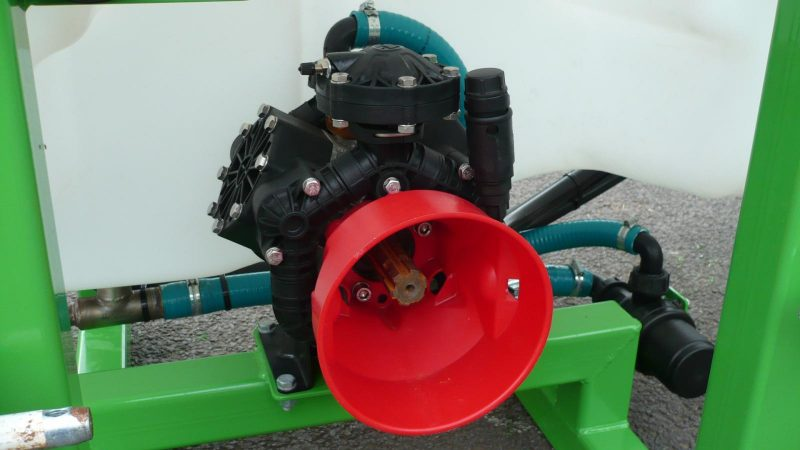 3 cylinder diaphragm pump on the STARGREEN AS600Pro or AS800Pro Tractor Mounted Amenity Sprayer