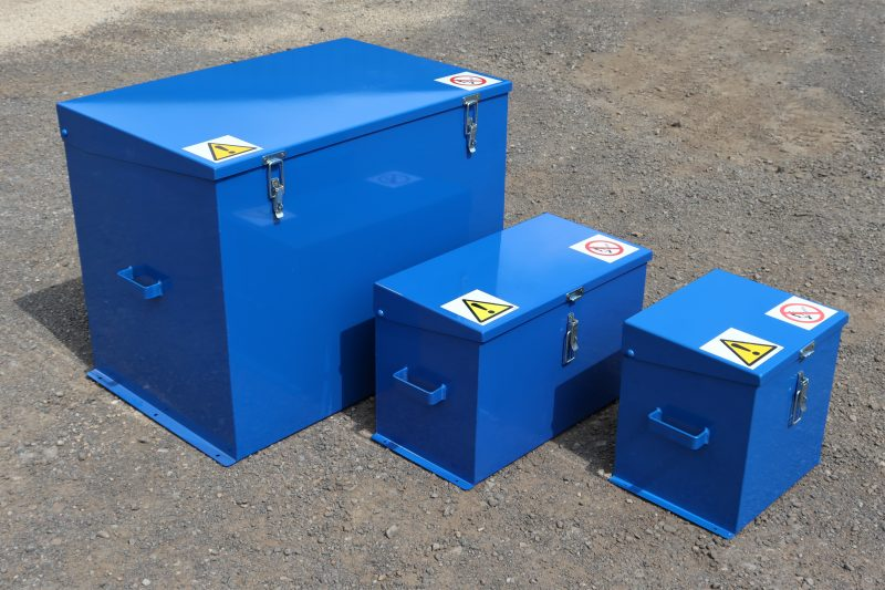 VALE Engineering's Chemical Storage Safes are fully seam welded to ensure leak proof sumps
