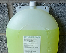 The RIVERLYNX Rotary Atomiser and Controlled Droplet Application (CDA) Lance Cleaner is a specially formulated, non-hazardous, bio-degradable cleaning fluid.