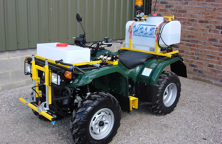 ATV quad bike mounted Weed Sprayer PKL350 has full automatic transmission (Ultramatic®)