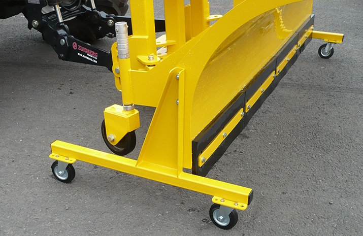 Castor parking stands for VALE Engineering's Tractor Snow Plough SP2400HD