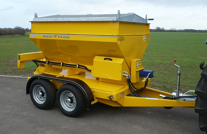 Overall dimensions of the VALE TS1700 Tractor Towed Salt Spreader (Gritter) from VALE Engineering are: 4040 x 2050mm x 1840mm (length x width x height)