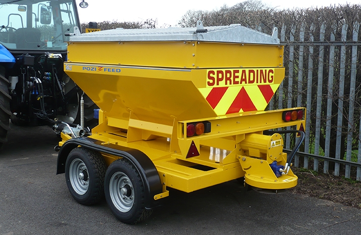 Ideal for use as part of a planned winter maintenance programme to control ice and snow.