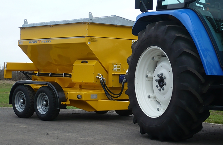 Tractor Towed Salt Spreaders (Gritters) are a speciality of VALE Engineering