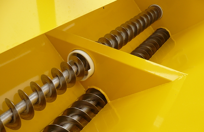 All VALE Engineering's POZI-FEED augers run in maintenance free nylon bushes