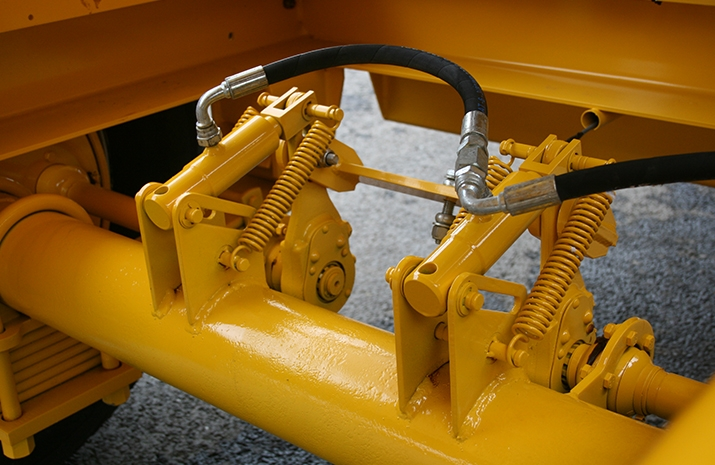 VALE Engineering's Tractor Towed Salt Spreader (Gritter) VALE TS5000 - detail