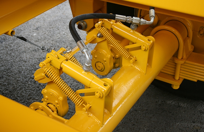 VALE Engineering's VALE TS5000 Tractor Towed Salt Spreader (Gritter) - detail