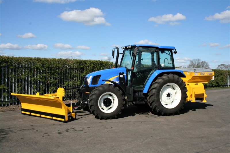 This large winter maintenance tractor is the largest winter maintenance option currently available in the VALE Engineering hire fleet.