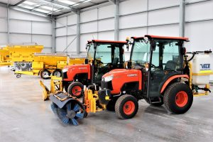 A wide selection of winter maintenance equipment from VALE Engineering
